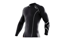 2XU Men's Long Sleeve Compression Top black/black
